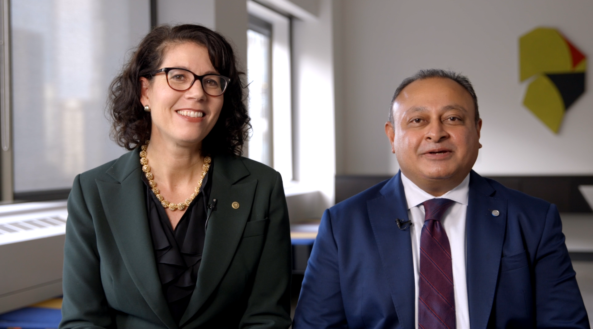 Christine Cooper and Nadim Hirji, Co-Heads of BMO Commercial Bank.